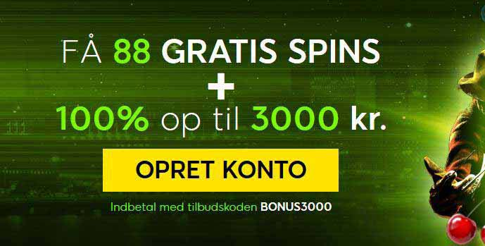 Unik bonus fra 888 - 3.000,- via CasinoPenge
