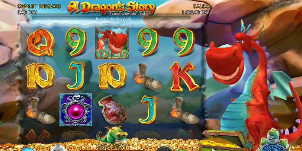 A Dragons Story Spilleautomat - få Free Spins