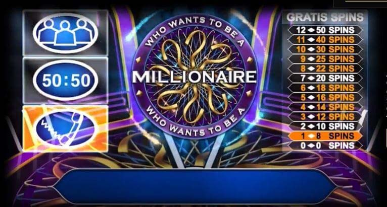 Læs om Who Wants To Be a Millionaire spilleautomaten og få gratis spins